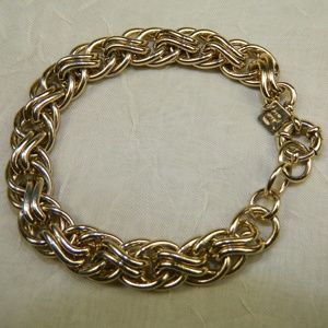Gold tone Banana Republic Chain Bracelet